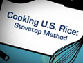 Cooking U.S. Rice: Stovetop Method